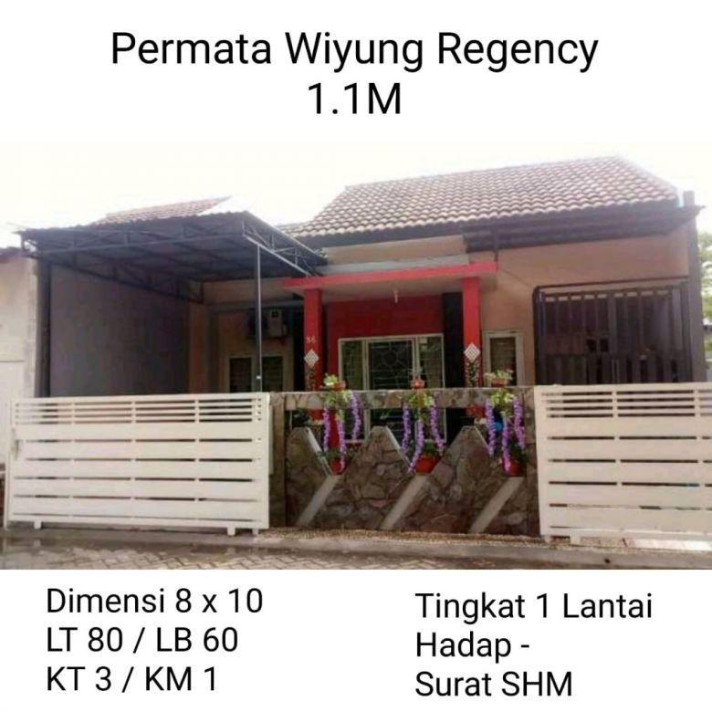 Rumah Permata Wiyung Surabaya Murah Nego Dekat Jalan Raya