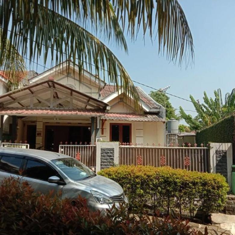 LT. 170 m2 : Dekat Masjid n Hadap Taman - Jl. Raya Sawangan