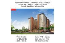 Aparteman baru amega Crown Waru Sidoarjo dekat surabaya