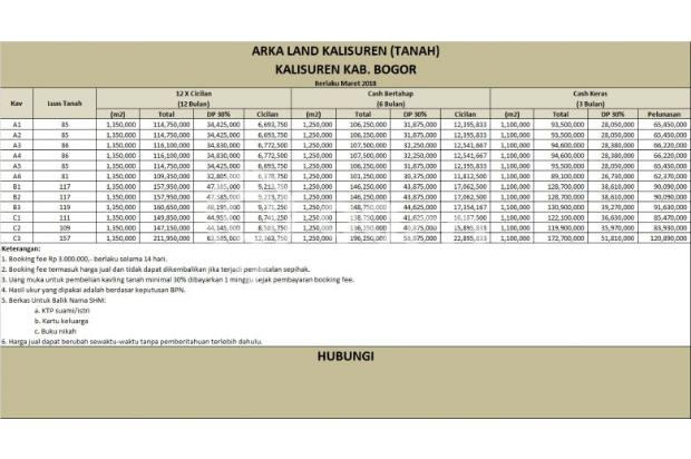 Cash Tahap, Angsur 12 X Tanpa Bunga, 100 Jt-an 16510393