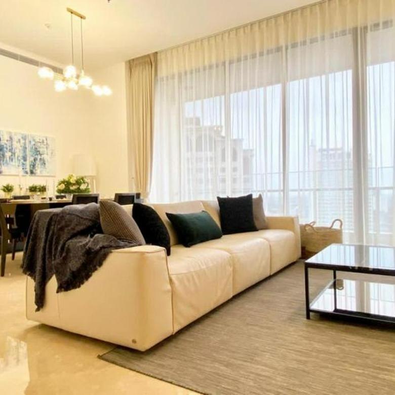 Brand New Luxury Apartment with Nice 2 Bedrooms Fully Furnished at Pakubuwono Spring