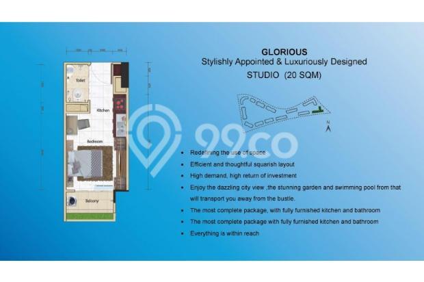Skyhouse BSD Apartment Dijual 14531832