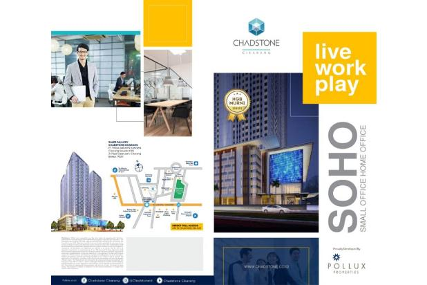 soho small office home office pertama di cikarang lokasi super strategis
