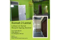 Murah, rumah 2 lantai barat Masjid Agung Bantul