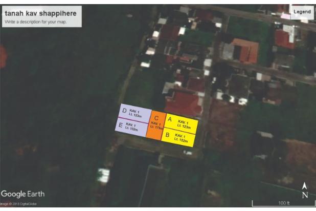 Rp492jt Tanah Dijual