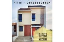 Rumah 2lt dp 28jtn  Cluster Victoria bumi indah city Tangerang