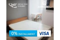 SpringHill Terrace Residence 2BR Fully furnished (bisa dicicil 12x)