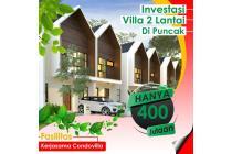Investasi Villa Puncak Harga Promo Bebas Biaya IPL