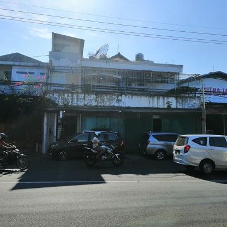 (BS), Rumah dan toko tempat strategis pinggir jalan raya karan