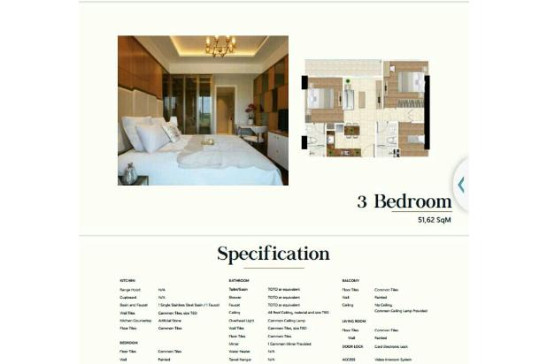 Rp562jt Apartemen Dijual