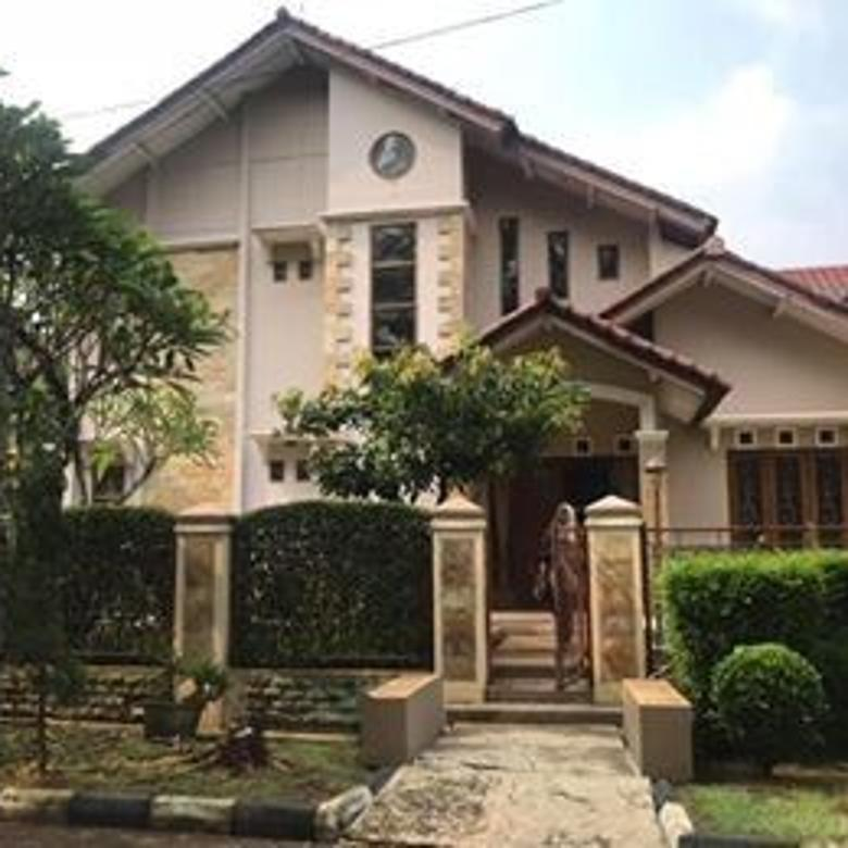Rumah Hadap Taman Dalam Komplek Villa Cinere Mas