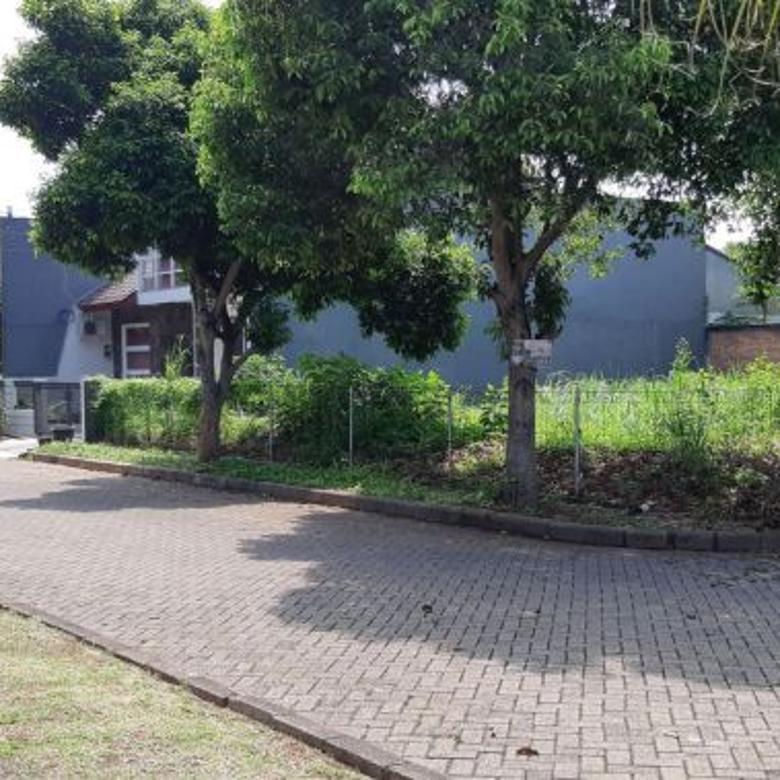 Tanah Hoek di Villa Melati Mas Cocok untuk Perumahan