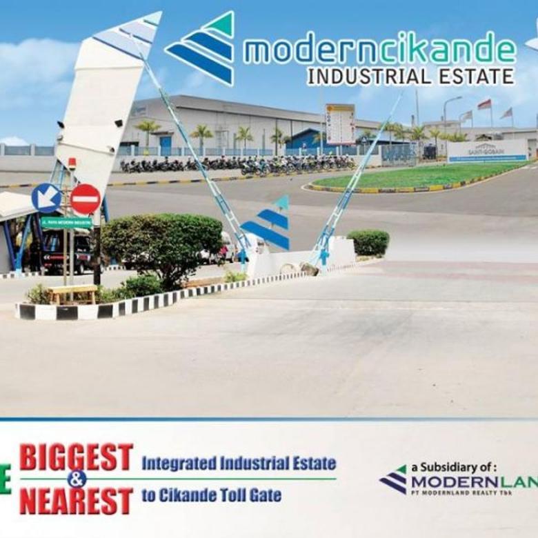 Gudang dan Pabrik Modernland Cikande