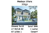 Dijual Rumah Siap Huni Medayu Utara, Surabaya