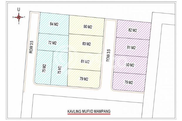 Kami Bantu Anda Beli Rumah, KPR TANPA DP di Mampang Mas 14417437