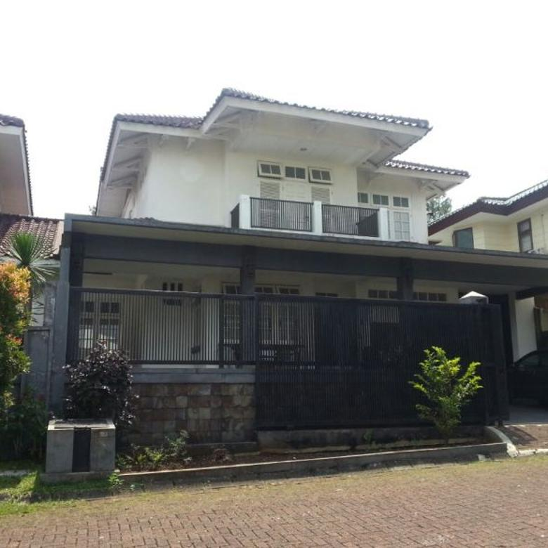 Rumah Besar Lokasi eksklusif Lakeside Bogor Raya