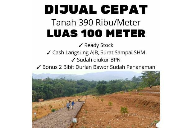 Rp39jt Tanah Dijual