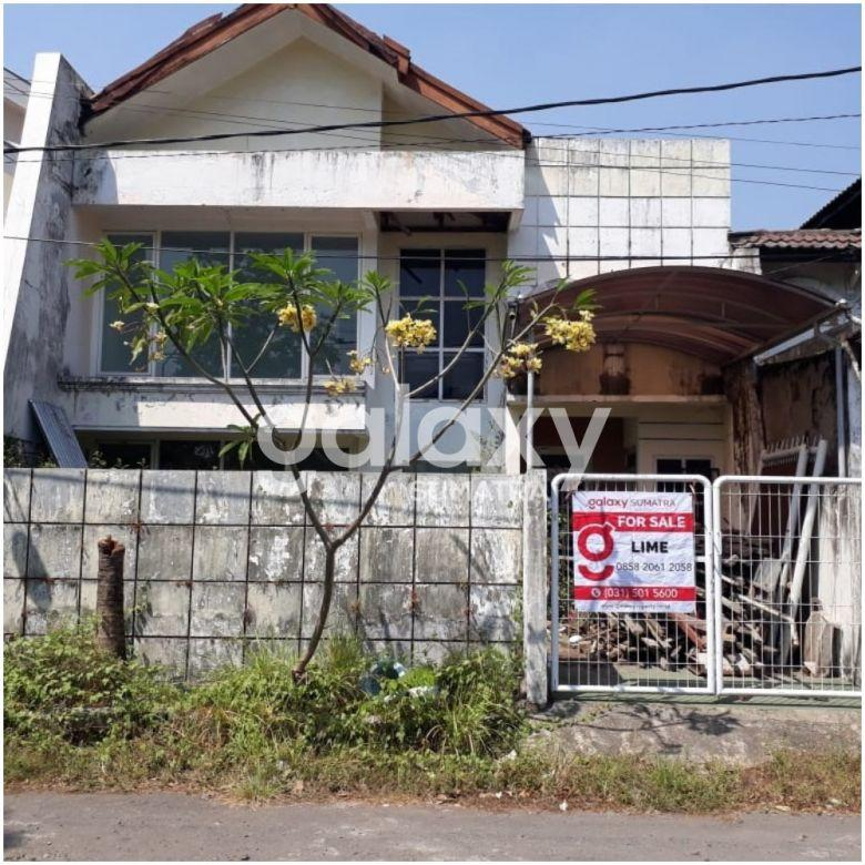 Dijual Rumah 2 Lantai Griya Babatan Mukti Blok C Depan - Lime