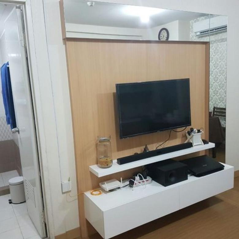 Apartemen Green Bay 3 Kamar jadi 2 Kamar Fullfurnish Tower H Tahap 2
