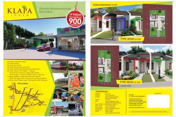 Rp190jt Rumah Dijual
