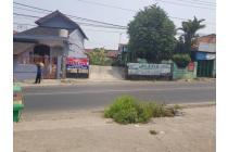 Tanah Strategis Pinggir Jalan Di Jl. Raya Cibungbulang