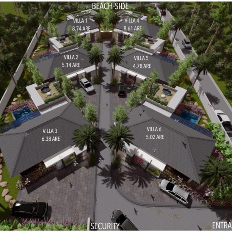 6 unit Villa dijual di Stangi dekat pantai Senggigi