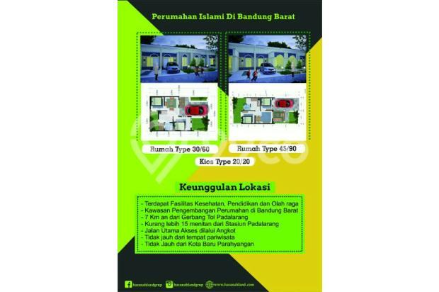 Dijual Rumah Syariah di Bandung Barat 13698555