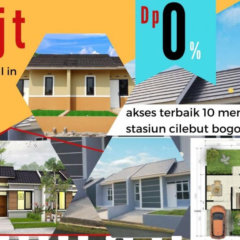 rumah paling murah di kota bogor DP0% free biaya