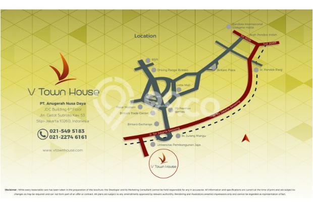 Rumah Tapak 3 Lt Harga 1,2M Lokasi Strategis! 3 Mnt ke Stasiun Jurangmangu 13012438