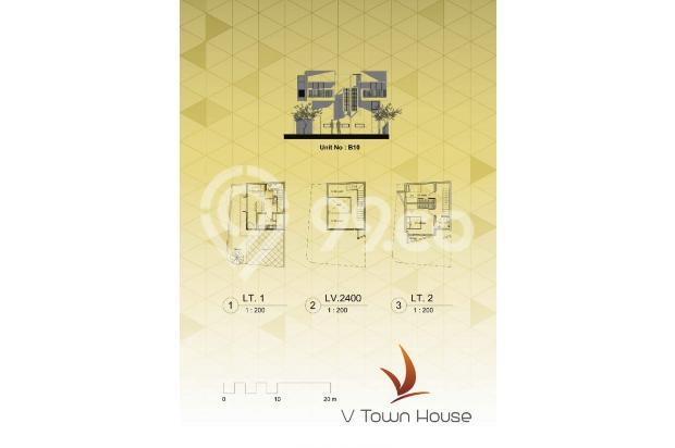 Rumah Tapak 3 Lt Harga 1,2M Lokasi Strategis! 3 Mnt ke Stasiun Jurangmangu 13860235