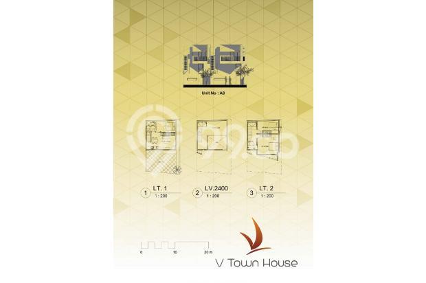 Rumah Tapak 3 Lt Harga 1,2M Lokasi Strategis! 3 Mnt ke Stasiun Jurangmangu 13860271