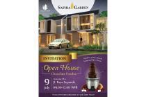 """OPEN HOUSE SAFIRA GARDEN tgl 9 Juli 17 """"CHOCOLATE PARTY With SAFIRA GARDEN"""""""