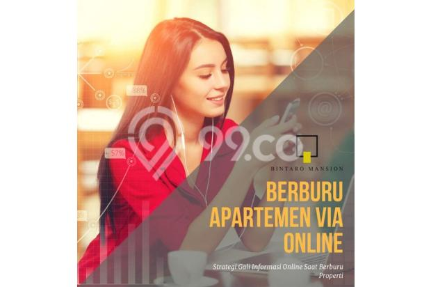 Apartemen 1 BR Bintaro Mansion harga miring fasilitas mewah 15423796