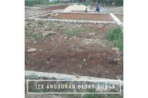 Ngangsur Tanah Tempo 12 Bulan Bebas Bunga, Arka Land Kalisuren