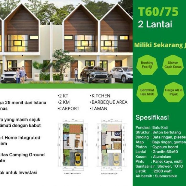 Villa Puncak Harga terjangkau View Citylight