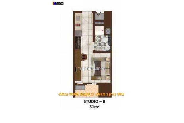 APARTEMEN STUDIO SEDAYU CITY JUAL RUGI BUTUH UANG 15769030