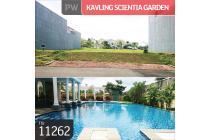 kavling Scientia Garden Cluster Aristoteles, Gading Serpong, Tangerang Sela