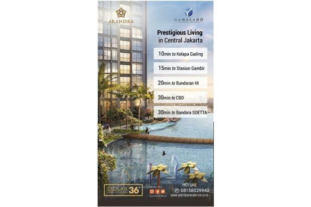 Rp8,39mily Apartemen Dijual