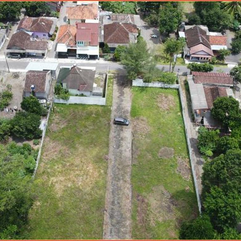 Murah 3 Juta-an, Tanah Perumahan Pagar Keliling Pinggir Aspal Jakal KM 9