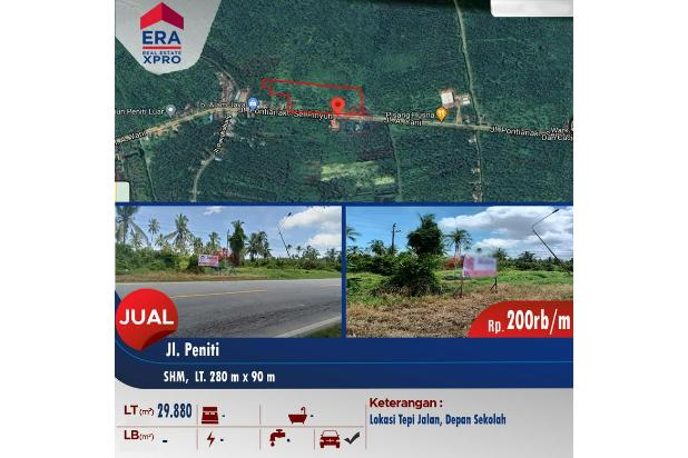 Rp5,97mily Tanah Dijual