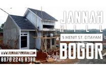 Rumah dekat stasiun Citayam dan Stasiun Bojong Gede, Bogor | Jannah Hill