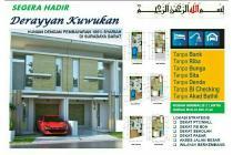 Rumah minimalis 2lt Kuwukan Sby Barat konsep syariah