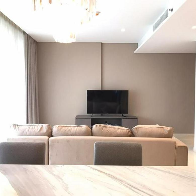 Rugi Apartemen Casa Domaine 2BR uk147m2 Semi  Furnished Siap Huni at Jakarta Pusat