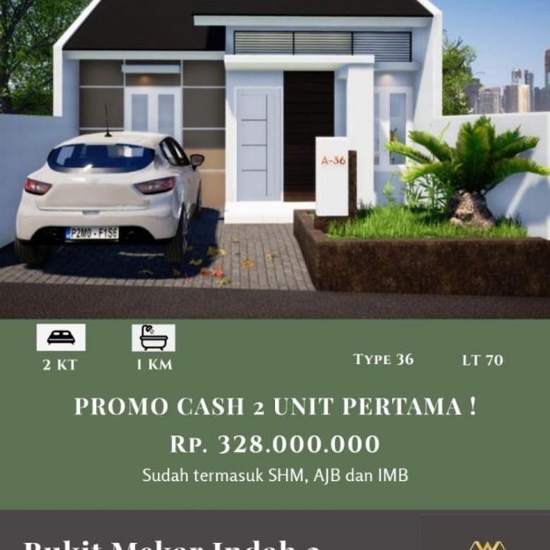 Rumah Baru Dekat Jalan Raya Cileunyi Harga Promo Bebas Banjir