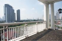 apartemen permata hijau gedung putih disewakan 2 BR nice view