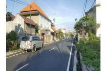 tanah jalan utama merdeka sunset road kuta dekat siloam raya kuta