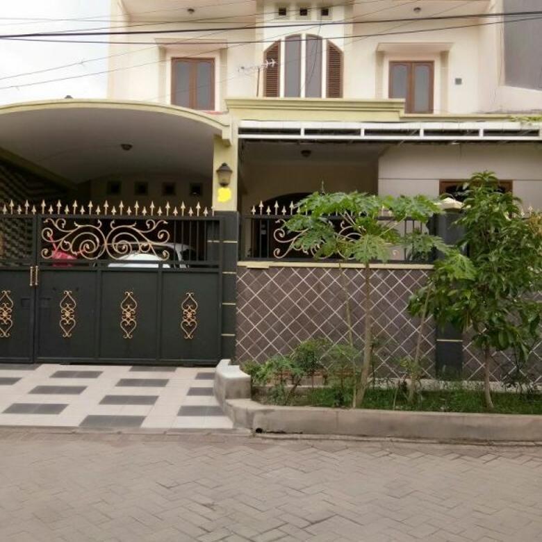 Jual Rumah 2 Lantai Tenggilis Timur Dalam Lantai Full Marmer