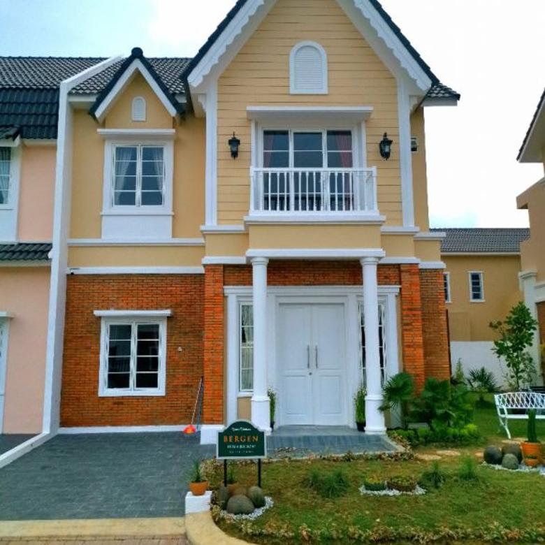 Rumah Dijual di Medan Johor Tipe Bergen 8 x 16 , Siap Huni