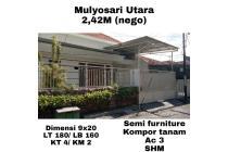 Rumah Mulyosari Utara Surabaya Bebas Banjir Nego