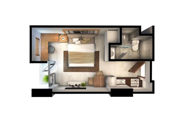 Rp494jt Apartemen Dijual